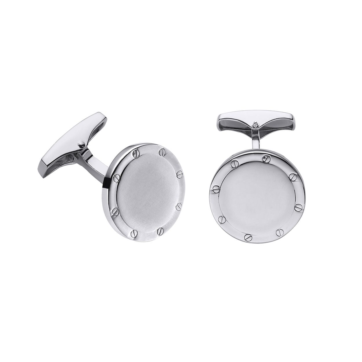 GEMELOS OVAL PLATA DURAN EXQUSE 74121